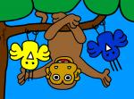 Monkey And Peeps