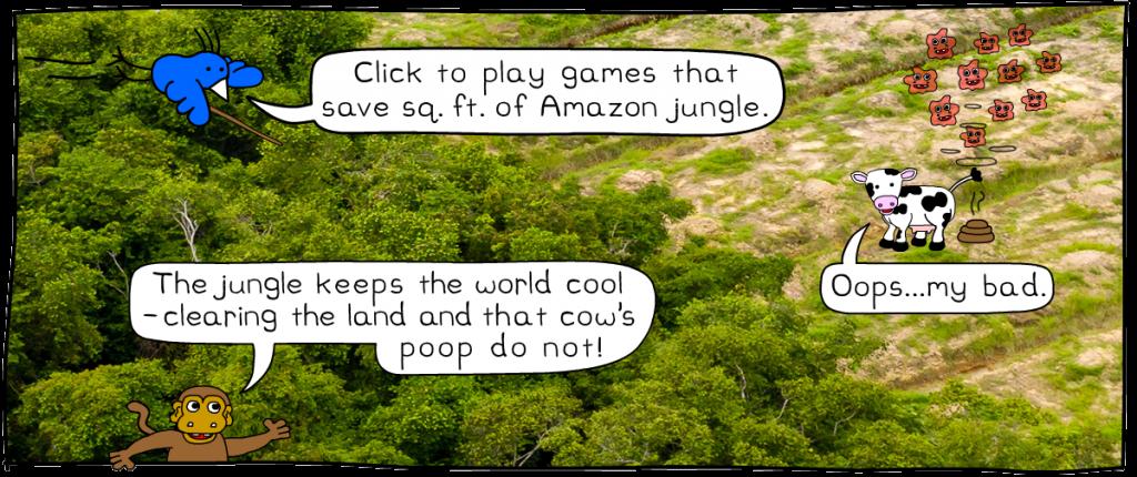 saving jungle eco games