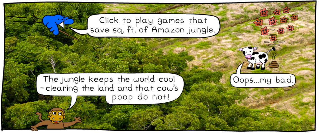 Play games to save sq. ft. of amazon jungle – save the amazon game